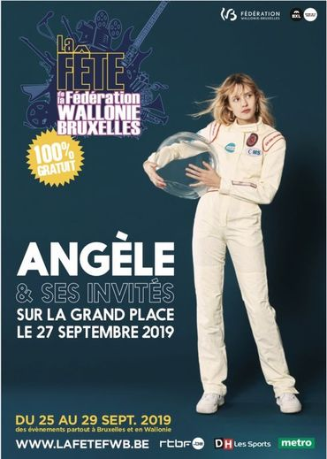 Angèle en concert gratuit avec Roméo Elvis, Caballero & JeanJass, Mc Solaar... !