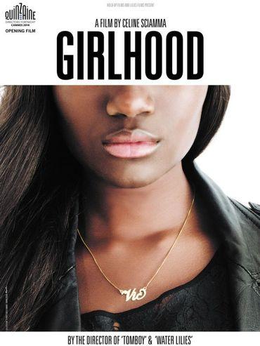 """L'affiche de """"Bande de filles"""""""