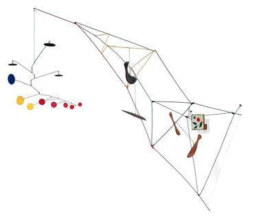 """""""Tower with Painting"""" d'Alexander Calder"""