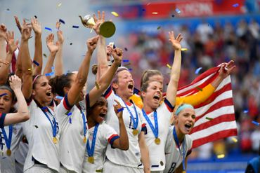 Une belle victoire pour les américaines