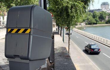 Un radar fixe automatique à Paris