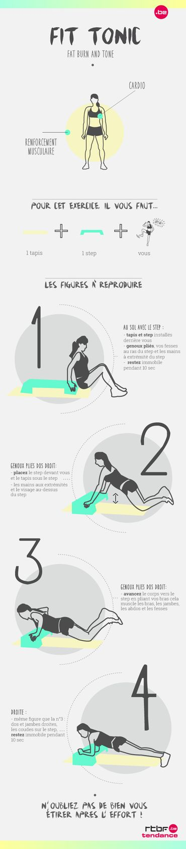 Fit Tonic : 4 exercices pour muscler vos bras