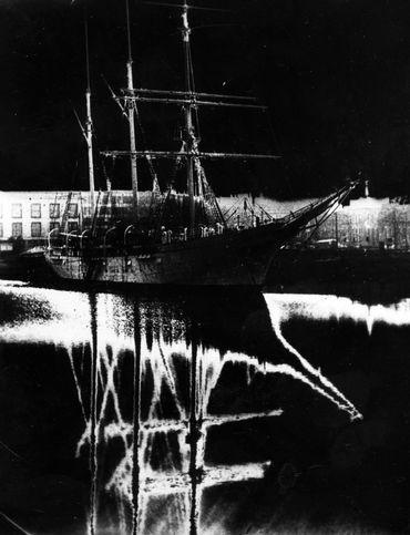 """Le fameux bateau-école """"Mercator"""" a été dessiné par Adrien de Gerlache, et inauguré en 1932"""