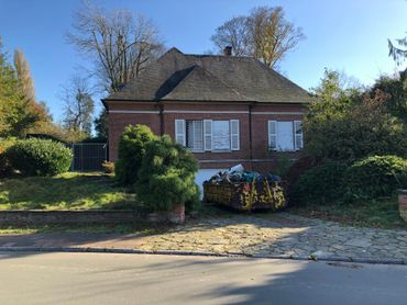 Voici la maison qui est sur le point d'être rasée si le projet est accepté