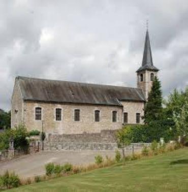 l'église Saint-Lambert à Mozet
