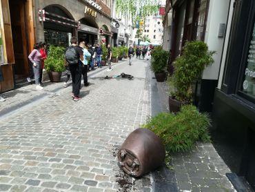 Des «gilets jaunes» arrêtés après avoir pénétré dans un magasin près de la Grand-Place
