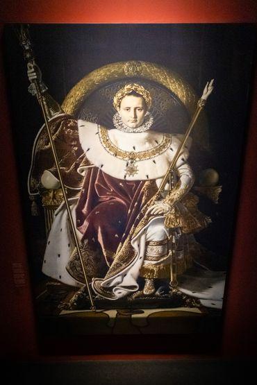 Pour le bicentenaire de la mort de Napoléon, une exposition sur sa fin de vie au Mémorial de la Bataille de Waterloo