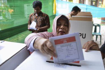 Ces élections semblent avoir passionné les Indonésiens qui ont voté en masse