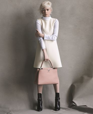 Une nouvelle campagne Louis Vuitton pour Michelle Williams