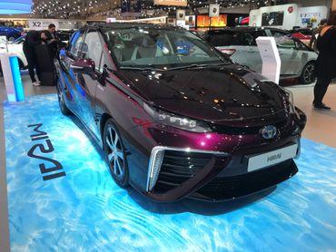 La Mirai de chez Toyota.