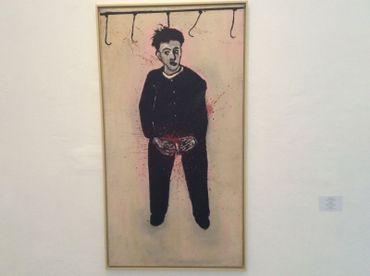 Stéphane Mandelbaum, autoportrait au crochet