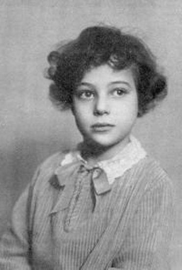 Suzy Falk dans son enfance