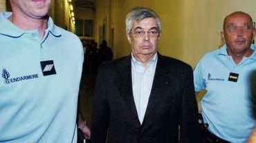 Jean-Michel Bissonnet lors d'une demande de mise en liberté infructueuse en septembre 2009 (Palais de Justice de Montpellier)