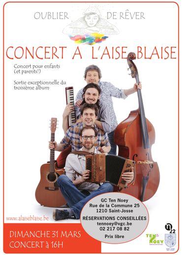 Vos enfants vont adorer ce groupe : À l'aise Blaise !