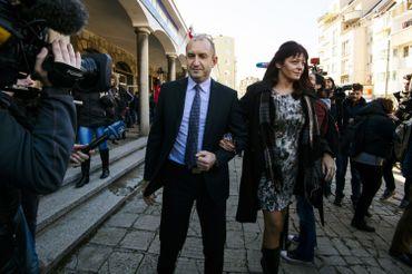 Desislava Radeva, la femme du président bulgare Rumen Radev.