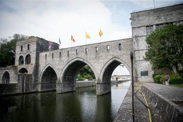 Le pont des trous à l'heure actuelle