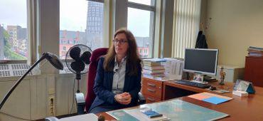 La substitut du procureur du roi de Charleroi, Sandrine Vairon a donné des précisions sur les événements.