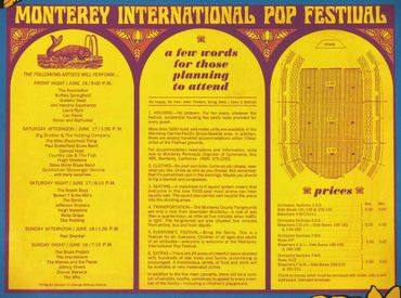 Spéciale Monterey Pop Festival 1967
