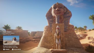Discovery tour : ancient Egypt, le sphinx