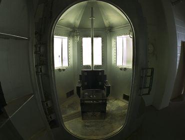 Une chambre à gaz de l'établissement pénitentiaire du Nouveau Mexique à Santa Fe. Elle n'a servi qu'une seule fois en 1960.