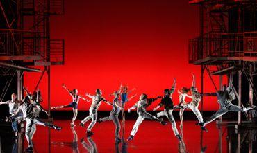 West Sid Story sur la scène du théâtre du Châtelet, à Paris, en 2007