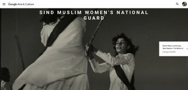 Sind Muslim Women's National Guard / Margaret Bourke-White 1947-11/ Life Photo Collection