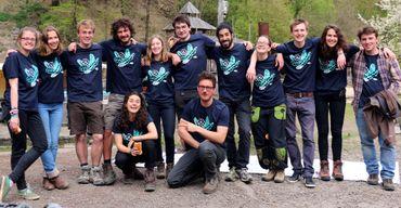 L'équipe de l'ASBL Vagalume en pleine forme