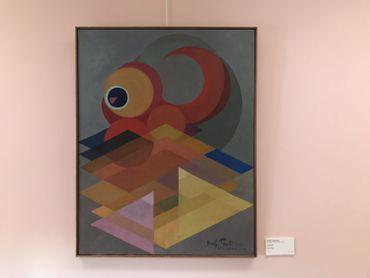 Jozef Peeters est une figure majeure de la première génération d'artistes abstraits en Belgique