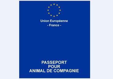 passeport européen français pour animal de compagnie