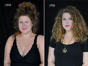 Entre 7h du matin et 19h, voici comment évolue votre visage