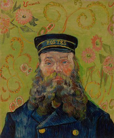 Vincent van Gogh. Joseph-Étienne Roulin, 1889. BF37.