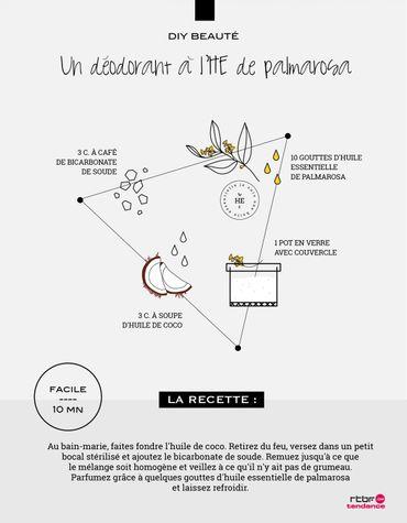 DIY Beauté : un déodorant à l'huile essentielle de palmarosa