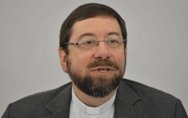 """Jen-Pierre Delville, évêque de Liège: """"Les nonces reçoivent une information de première main que beaucoup d'ambassadeurs n'ont pas""""."""