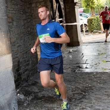 Notre sportif amateur Julien Hottias lors d'un jogging.