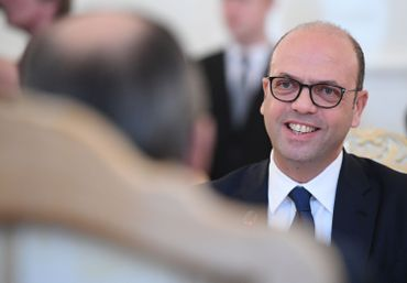 Le ministre des Affaires étrangères italien Angelino Alfano