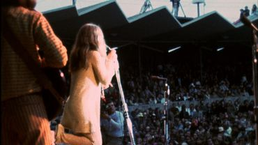 Janis Joplin sur la scène du Monterey Pop Festival en 1967