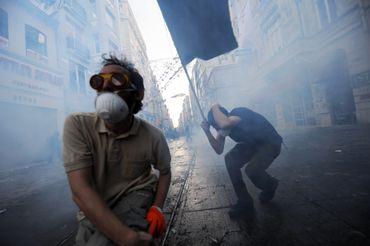 Affrontements entre police en manifestants le 31 mai