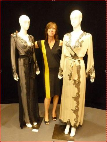 Carine Gilson, créatrice de lingerie couture