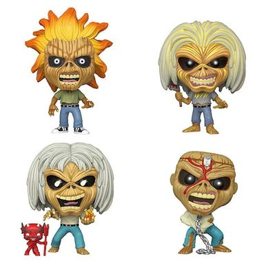 Des figurines Pop! Iron Maiden