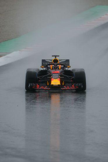 La Red Bull de Daniel Ricciardo