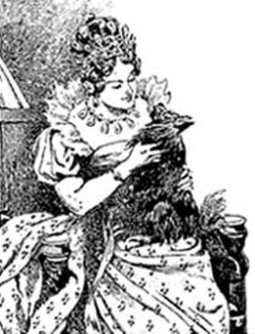 Fritzkin dans les bras de Marie-Louise