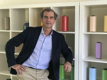 Olivier Steisel, directeur général de la CIF, la Compagnie industrielle des fibres. Tanger