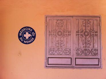 Le bureau de Médecins du Monde, à Agadez