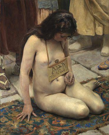"""""""Esclave en vente"""" de José Jimenez Aranda (1897)"""