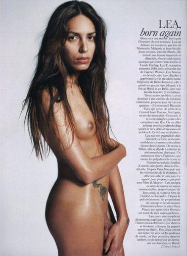 Lea T pour Givenchy