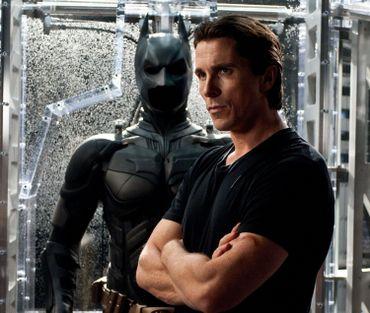 Le Batman de Christopher Nolan a les traits de Christian Bale