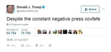 Plongée dans la pensée de Donald Trump: analyse d'un an de tweets du président américain