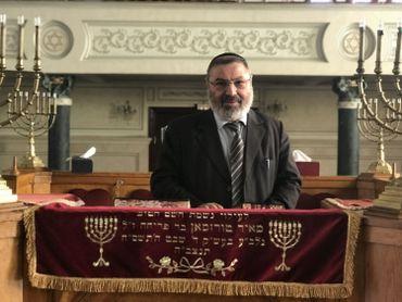 Charlie Israel Hazout, Rabbin de la synagogue Bethel à Casablanca