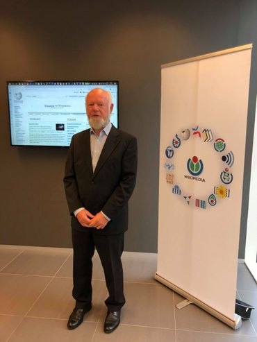 Geert Van Pamel, président de la fondation WikimediA Belgique ©RTBF