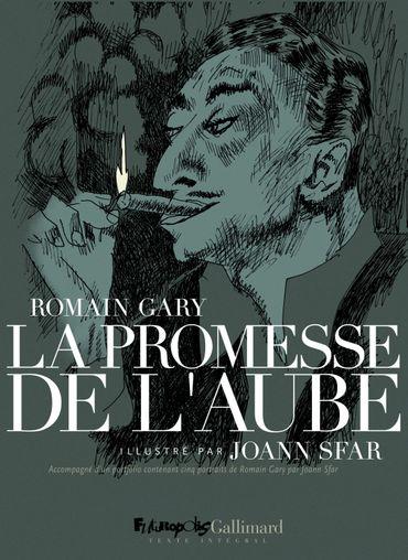 """""""La promesse de l'aube"""" de Romain Garry, illustrée par Joann Sfar"""